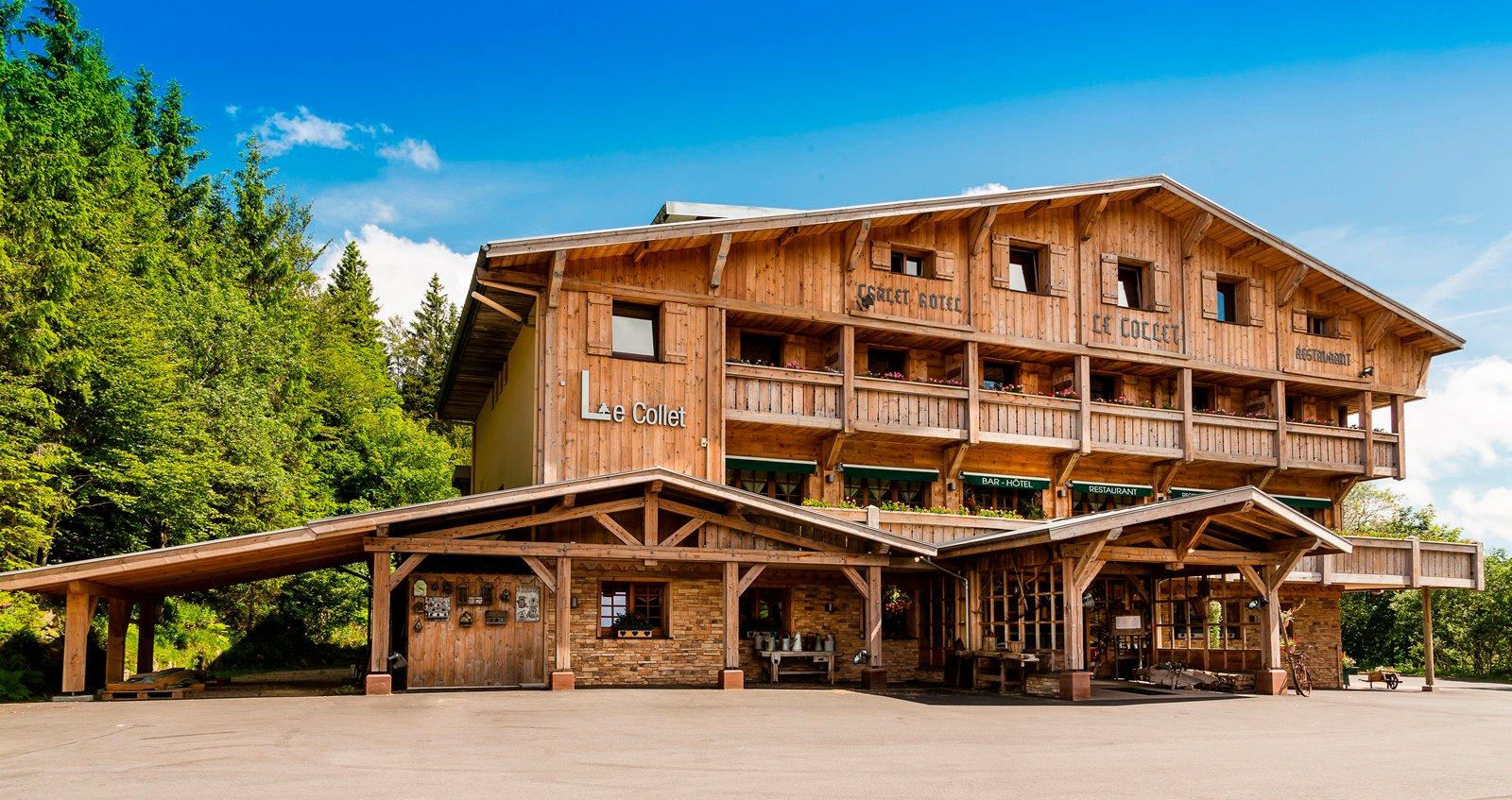 Deco Chambre Quad : Restaurant de montagne le Collet