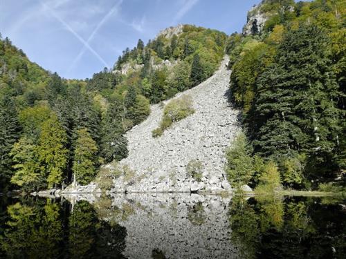 Le lac du Fischboedle - Alsace