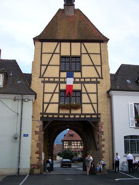 Porte fortifiée de Wihr au Val