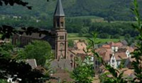 Le village de Wihr au Val