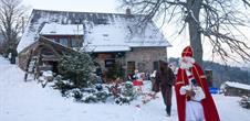 Bauernhof in Weihnachtsatmosphäre Lameysberg