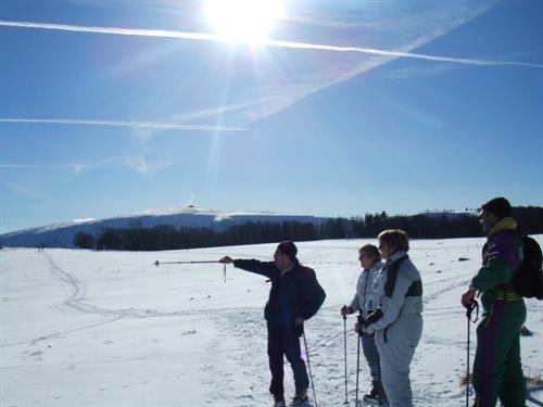 Une randonnée en raquettes dans la Vallée de Munster