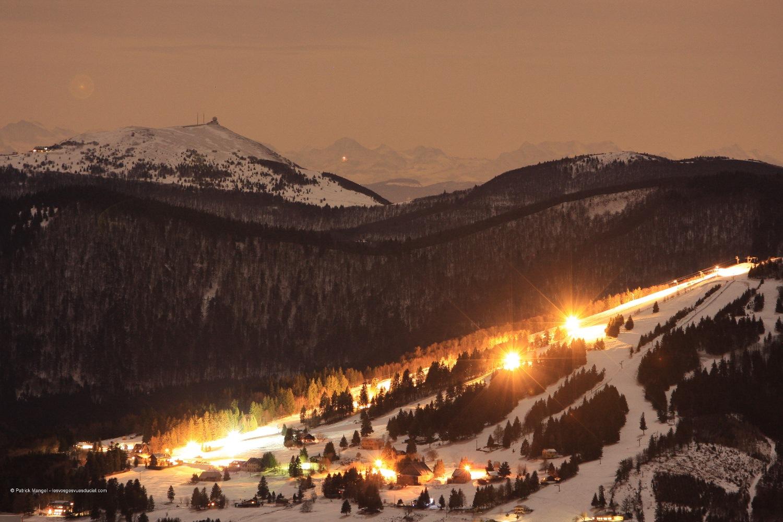 site de ski du Schnepfenried - Vallée de Munster - Alsace