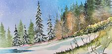 Exposition artistique d'hiver