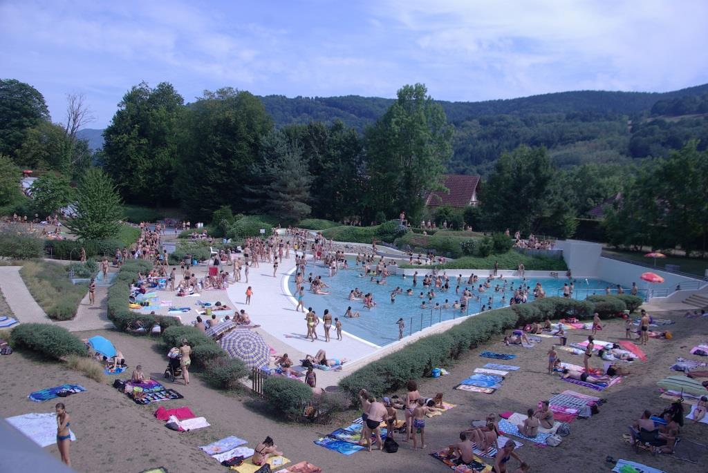 Piscine munster alsace centre nautique toboggan for Piscine de la riche