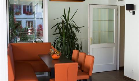 Hôtel - Restaurant Le Soleil d'Or - Coin détente