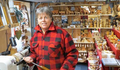 Doris Baerentzung à Hohrod - Vallée de Munster