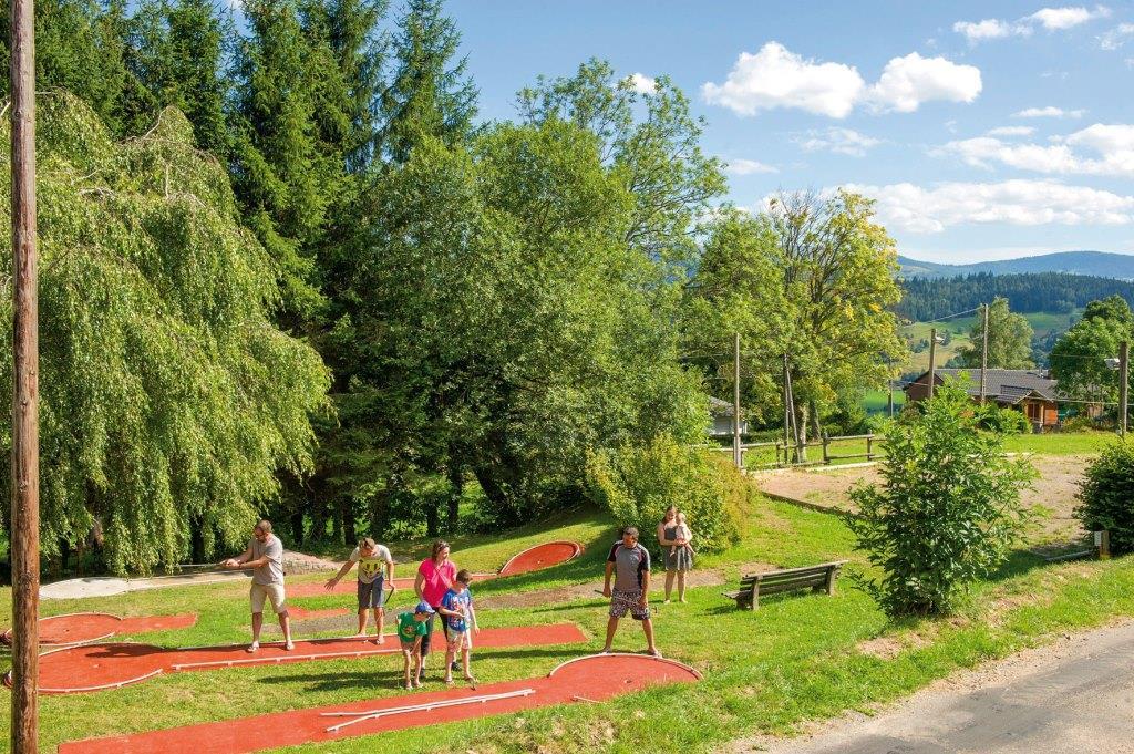 Villages vacances VTF Les Fougères - Soultzeren - haut Rhin - Alsace - Munster- Station de ski