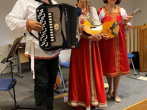 Concert Irinka et accordéon