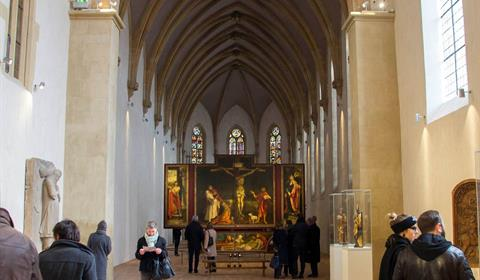 Retable d'Issenheim - La tentation de Saint Antoine Musée Unterlinden, Colmar, Alsace / www.musee-unterlinden.com Crédit photo : Office de tourisme de Colmar