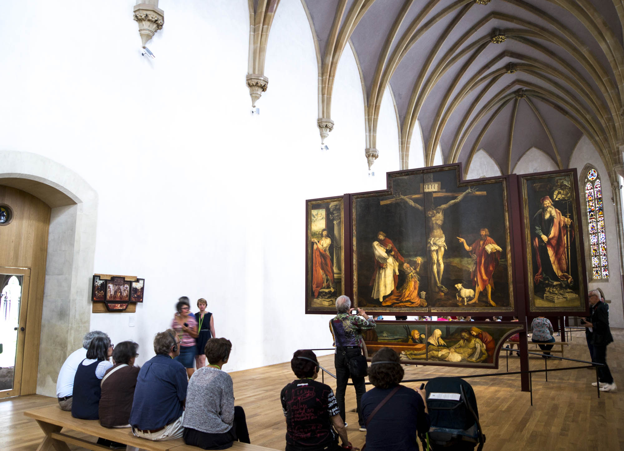 Chapelle abritant le retable d'Issenheim Musée Unterlinden, Colmar, Alsace / www.musee-unterlinden.com Crédit photo : Office de tourisme de Colmar