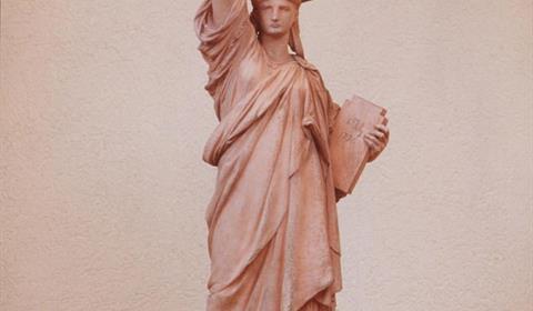 La Liberté éclairant le Monde  Musée Bartholdi, Colmar, Alsace / www.musee-bartholdi.fr Crédit photo : Christian Kempf - Studio K