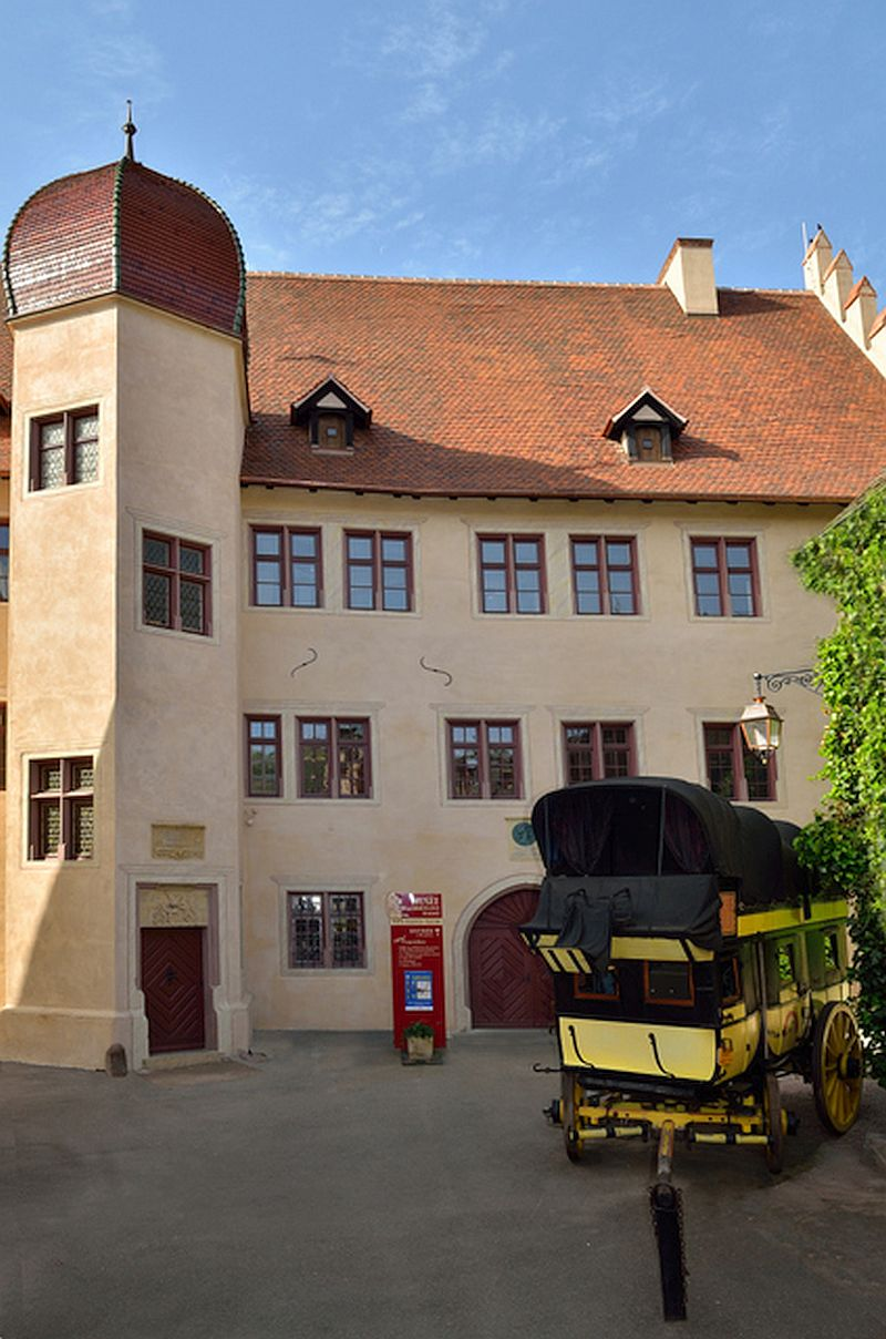 Alsace's Museum of Communication, Postal Service - Stagecoaches - Telecoms