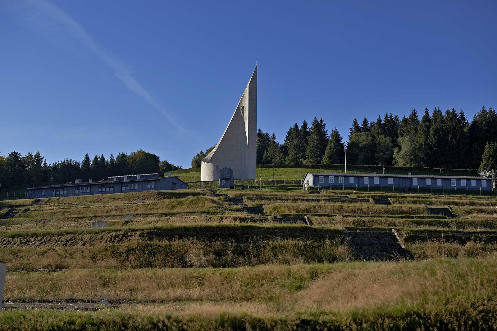 Centre europ�en du r�sistant d�port� / Site de l'ancien camp de concentration de Natzweiler-Struthof