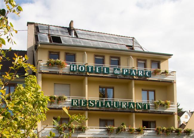 H tel du parc restaurant l 39 alexain for Hotel du parc
