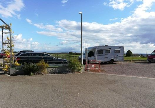 Aire de stationnement camping-car - Vignoble