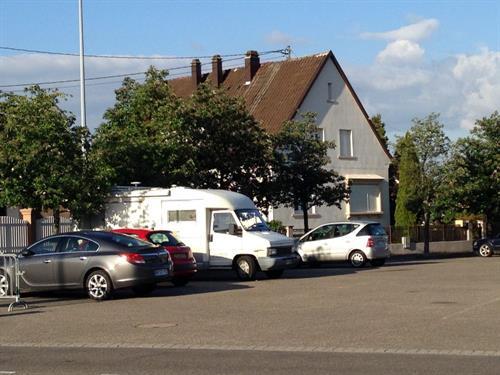 Aire de stationnement camping-car - Foire