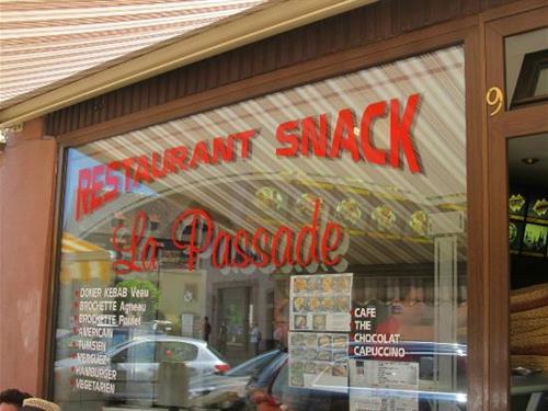 Restaurant La Passade