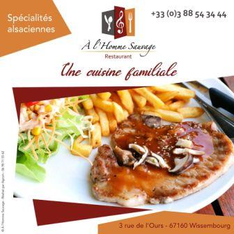 Restaurant A l'Homme Sauvage