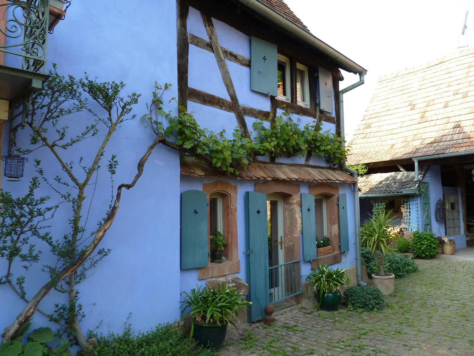 Chambre d h´tes Les jardins de la ferme bleue