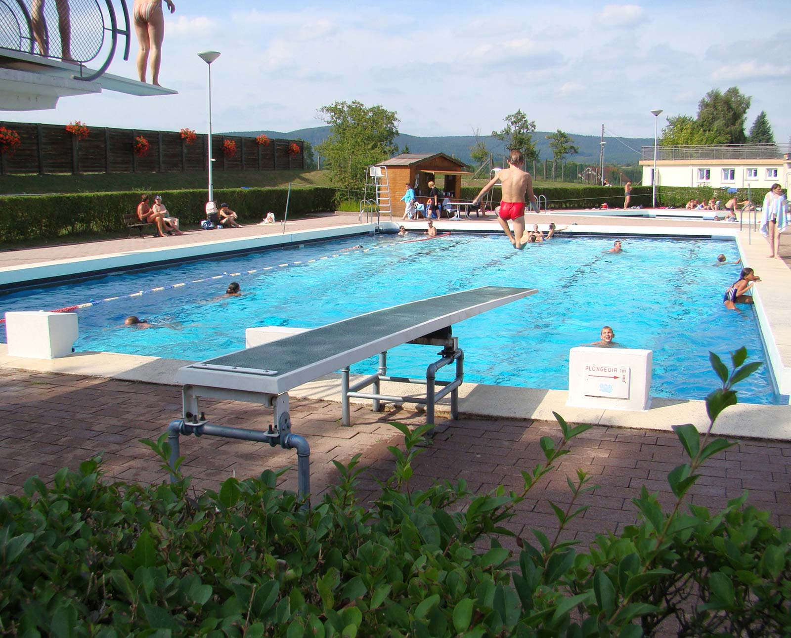 Piscine municipale de plein air reichshoffen for Piscine niederbronn