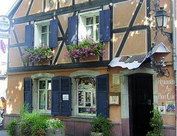 restaurant au bon coin 68920 wintzenheim. Black Bedroom Furniture Sets. Home Design Ideas