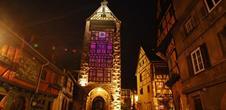 Noël à Riquewihr : marché de Noël traditionnel