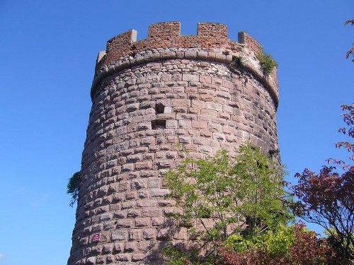 """Burg """"Haut Ribeaupierre"""" (oder """"Altenkastel"""")"""