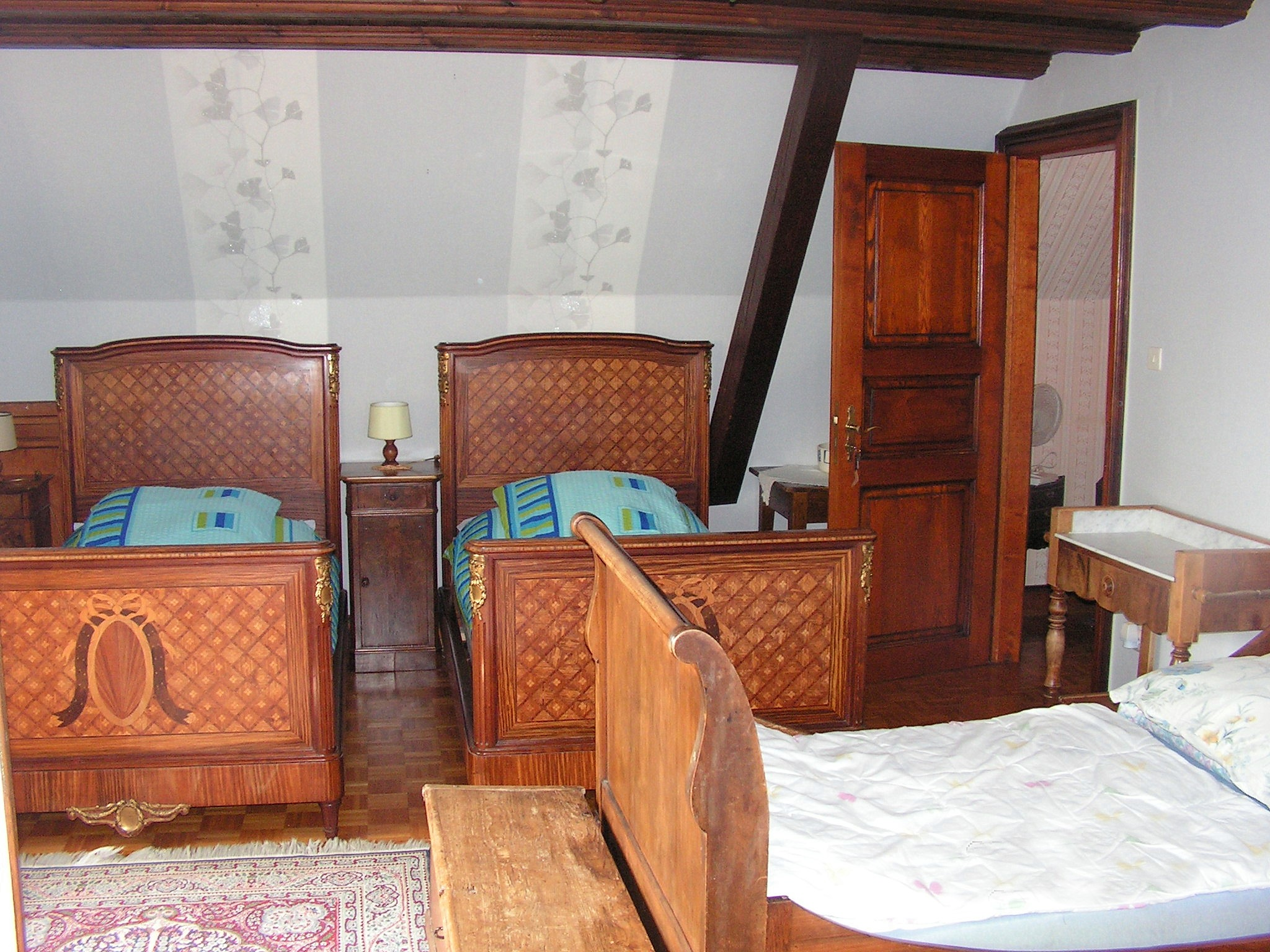 Chambre Colmar - Maison d'hôtes Bruppacher Françoise Beblenheim