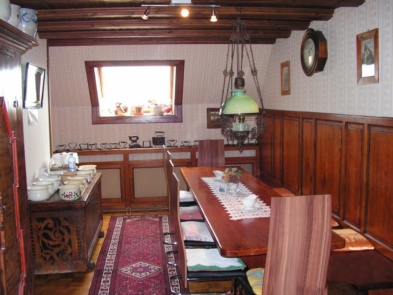Salle petit-déjeuner - Maison d'hôtes Bruppacher Françoise Beblenheim