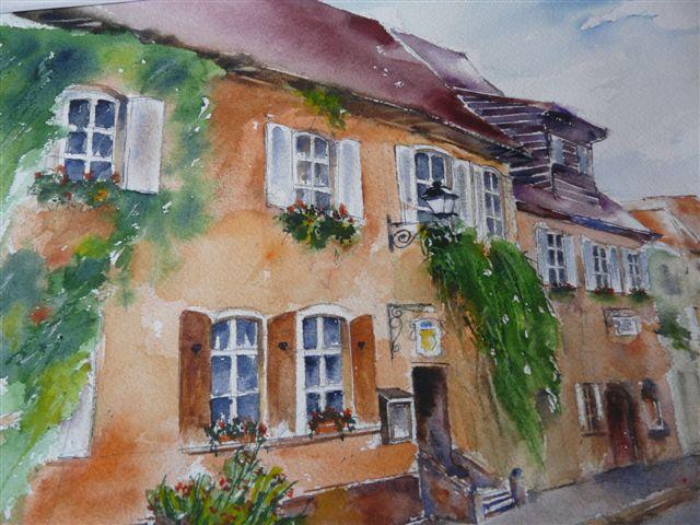 Maison d'hôtes de Mme MAULER Claudine - Côté Cour