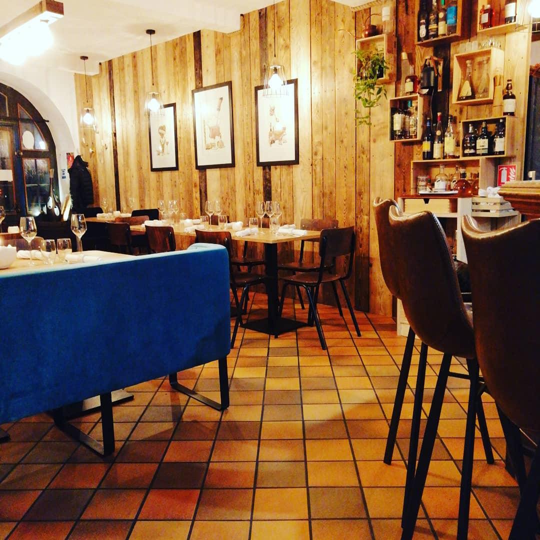 Restaurant a la ville de nancy ribeauville dpt 68 haut for Restaurant madame nancy
