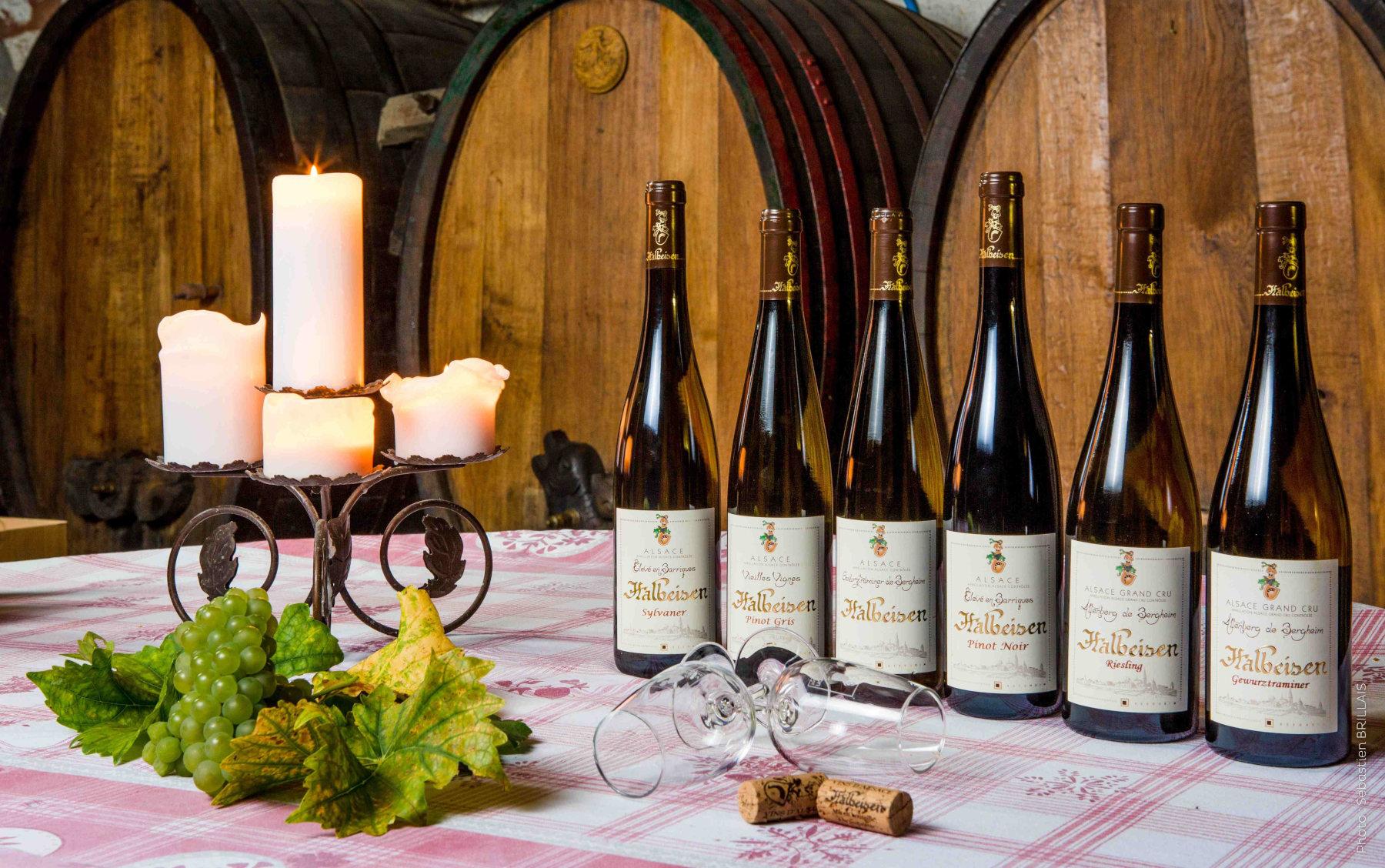 Vins et Cr�mant d'Alsace HALBEISEN