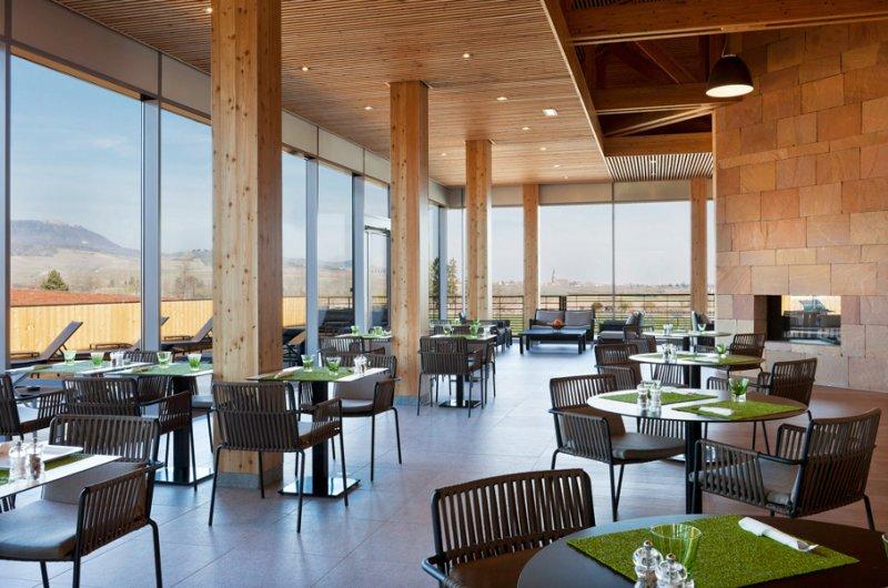 Restaurant Le Belvédère - Crédit : Fabrice Lambert