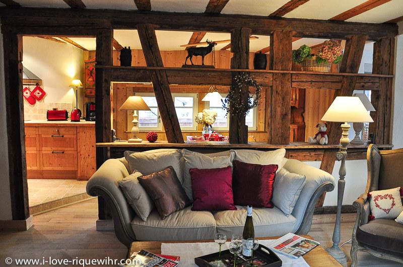 Meublé de tourisme Les Remparts de Riquewihr /Le Grand Cerf