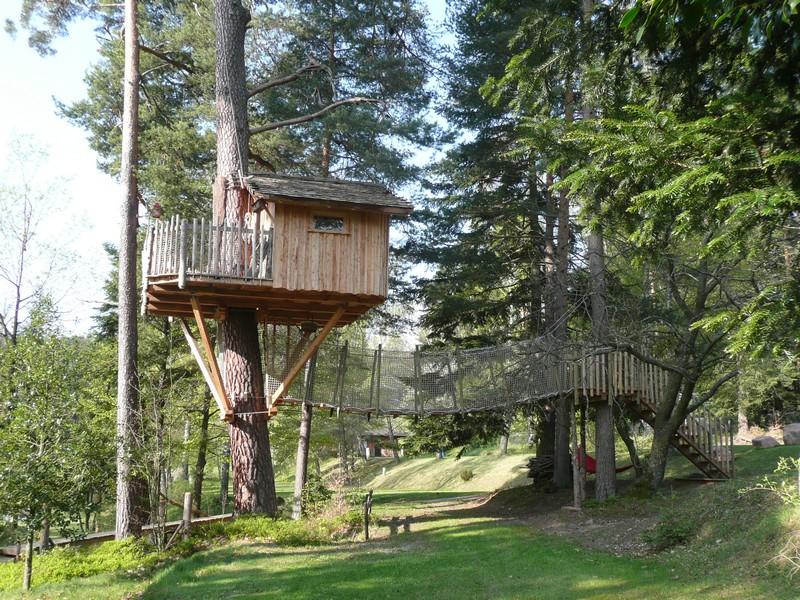 Cabanes dans les arbres Les Hauts de Ribeauvillé