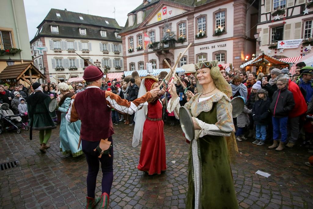 Marché de Noël médiéval de Ribeauvillé