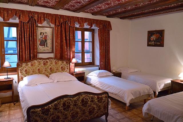 chambre familiale - riquewihr - dpt 68 haut-rhin - alsace