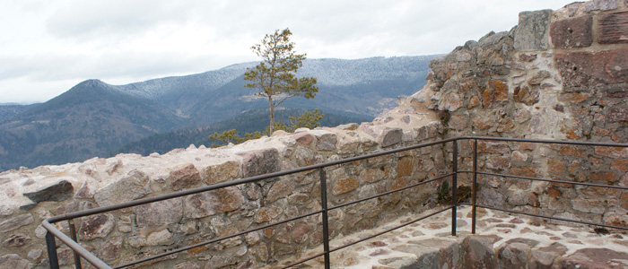 Le château de Bilstein-Aubure