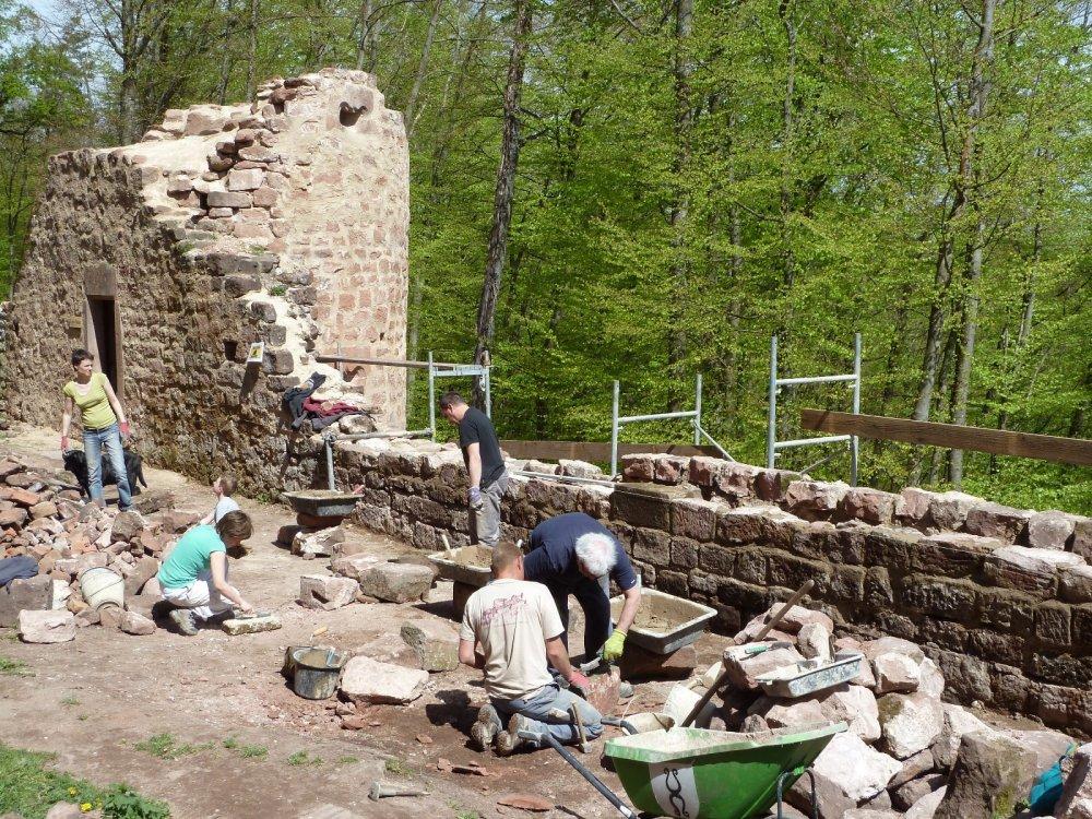 Ateliers de découverte du chantier de restauration du château du Kagenfels