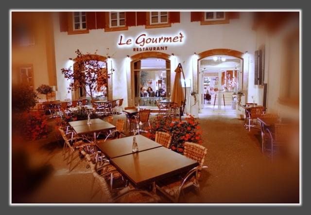 Restaurant Le Gourmet Marmoutier Carte