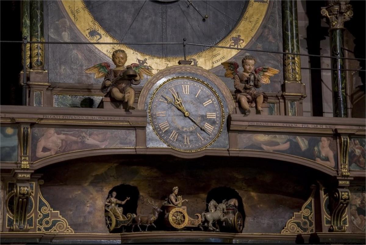 horloge strasbourg