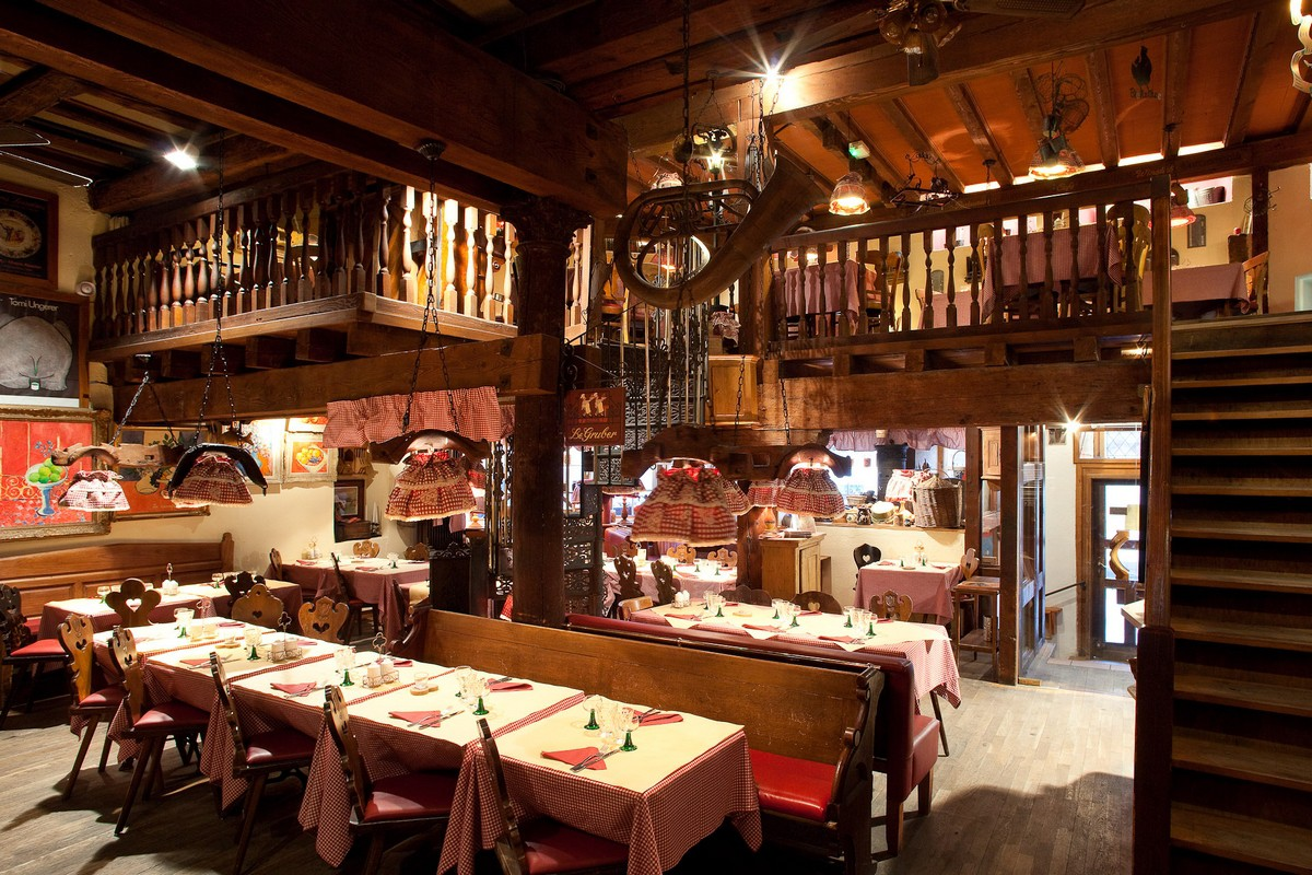 Restaurant le gruber - Restaurant jardin de l orangerie strasbourg ...