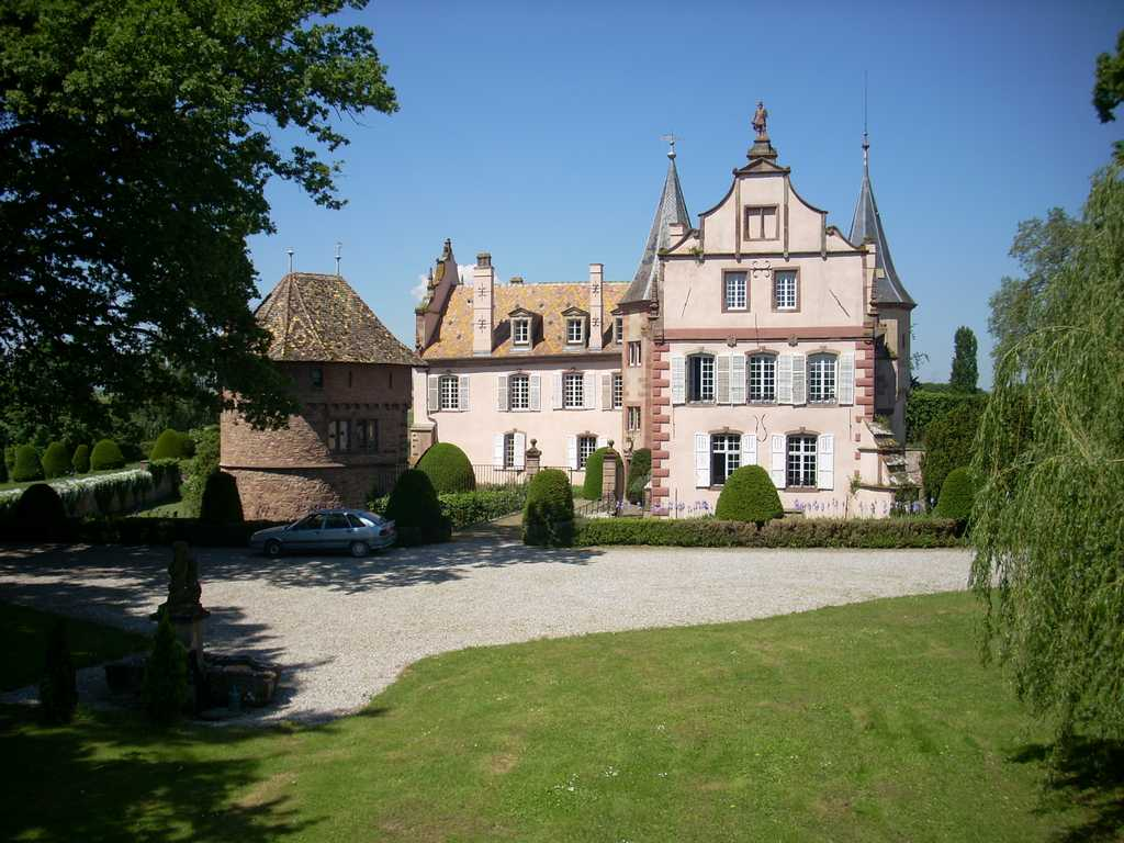 Chambres d 39 h tes du ch teau d 39 osthoffen - Chambres d hotes chateau ...