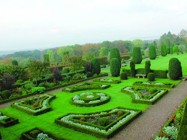 Le parc et les jardins du ch teau kolbsheim - Les jardins d alsace ...