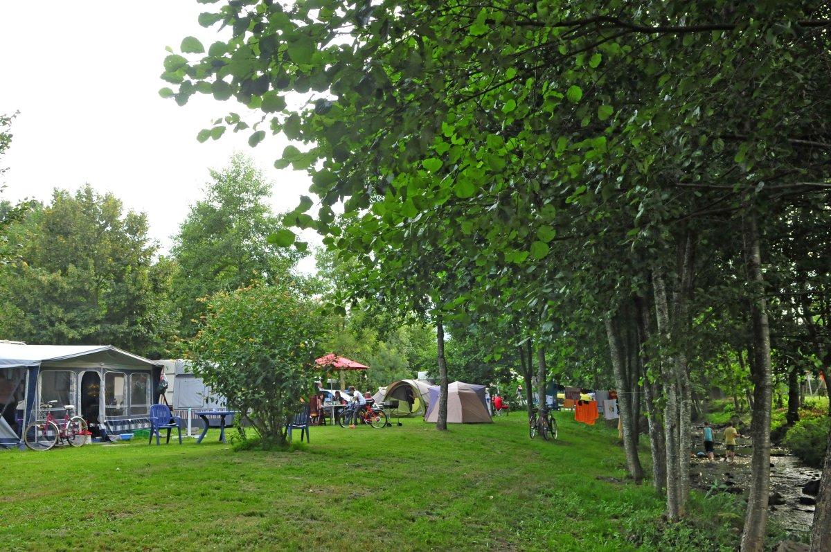 Aire de service artisanale pour camping-cars
