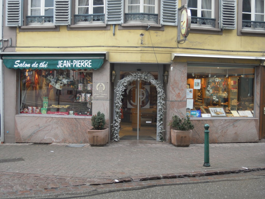P tisserie salon de th jean pierre for Salon patisserie