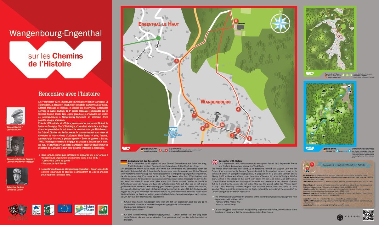 Les sentiers de la m moire - Wangenbourg engenthal office tourisme ...