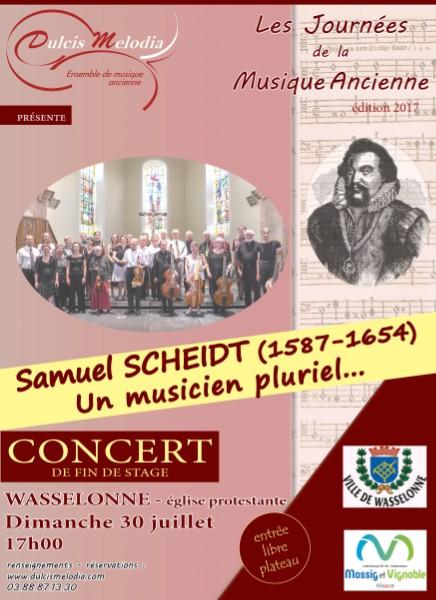 Concert de fin de stage 'Hommage à Samuel Scheidt'
