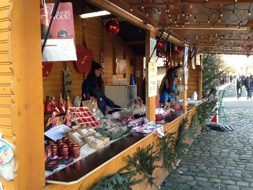 Christmas market and entertainment